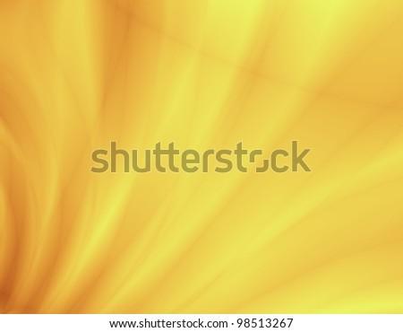 Yellow spring abstract background