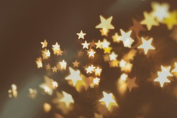 yellow stars abstract blur background (emo background)