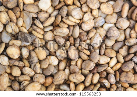Yellow stone sizes abstract background