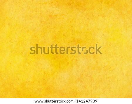 Yellow textured grunge background. - Shutterstock ID 141247909