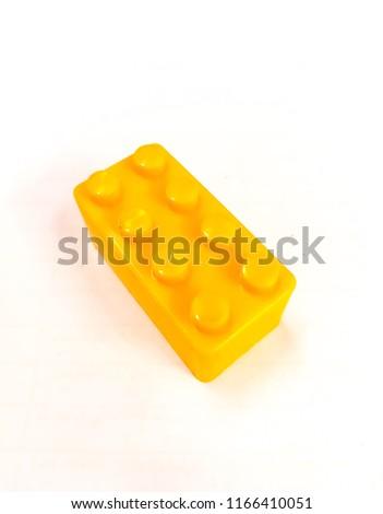 Stock Photo Yellow Toy Plastic