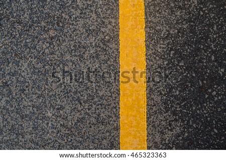 Yellow traffic line #465323363