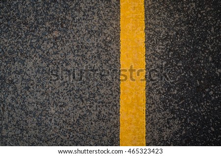 Yellow traffic line #465323423