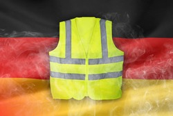 Yellow Vest Protests, German Flag Clean