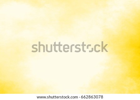 yellow watercolor background - abstract border #662863078