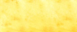 Yellow watercolour background, Watercolour painting soft textured on wet white paper background, Abstract yellow watercolor illustration banner, wallpaper