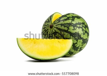Желтый арбуз польза