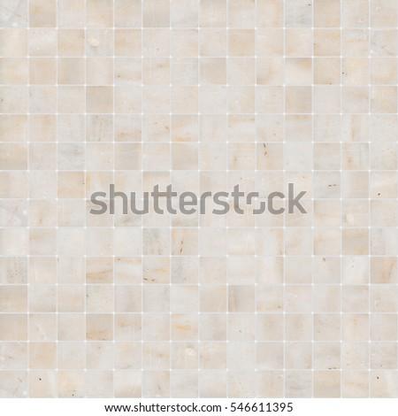 yellow white mosaic marble tile texture seamless