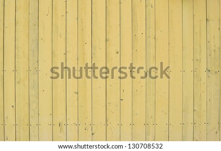 Yellow wooden background