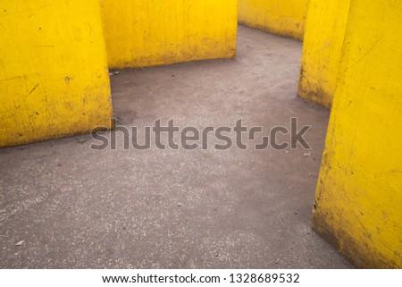 Yellow zigzag ways #1328689532