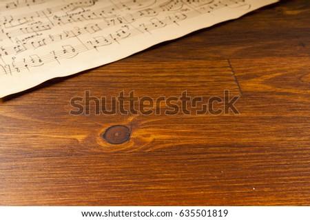 free photos music notation key on old retro paper avopix com