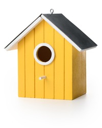 Yelolow bird box