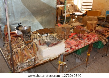 Yemen, fish for sale Сток-фото ©