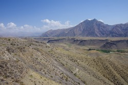 Yeranos Mountain Range near Azat reservoir in Kotayk Province, Armenia .