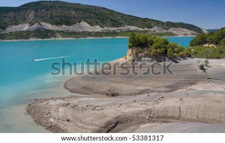 Yesa reservoir (Pyrenees,Spain)