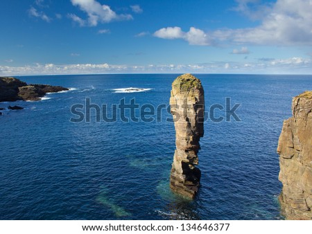 Yesnaby Sea Stack, Orkney