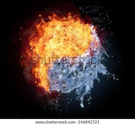 Free Photos Symbol Of Yin And Yang Fire Water Avopix