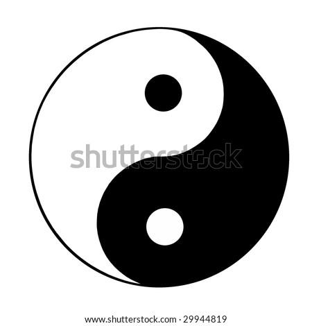 ying and yang sign