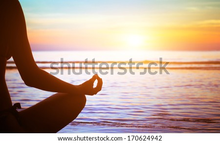 yoga and healthy lifestyle