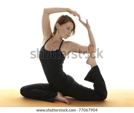 Yoga Asana - stock photo
