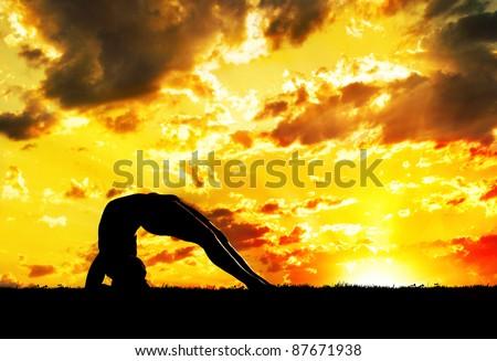 yoga dwi pada viparita dandasana upward facing twofoot