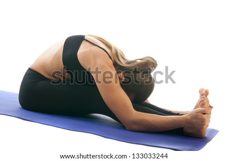 yoga seria paschimottanasana seated forward bend or