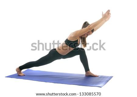Yoga seria: Virabhadrasana I - Warrior Pose