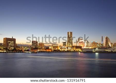 Yokohama Japan Night View