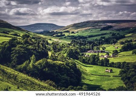 yorkshire dales england uk. Stock fotó ©