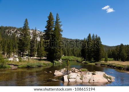 Yosemite national park in California - USA