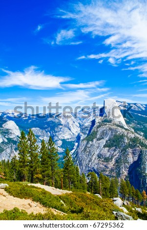 Yosemite National Park Landscape