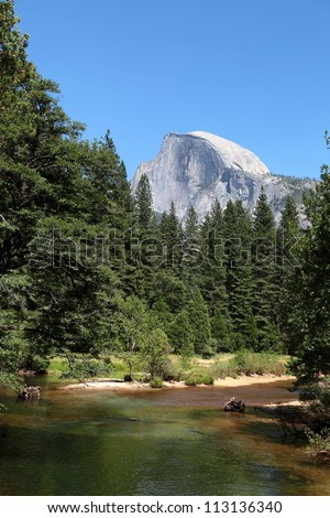 Yosemite National Park: Merced River and Half Dome