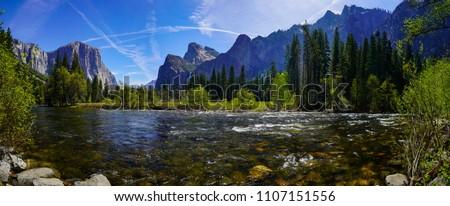 Yosemite National Park (Panoramic view)