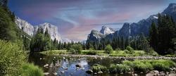 Yosemite Valley in the Yosemite National Park in California - USA