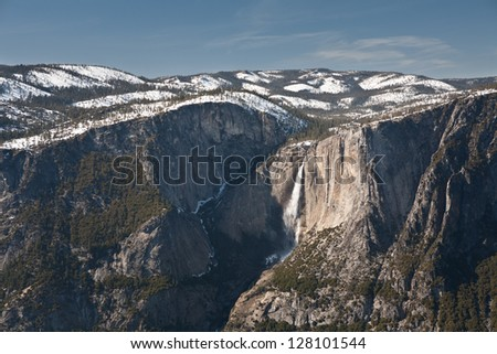 Yosemite Valley is one of the United States most iconic national parks.  The geology within the park is stunning and world class hiking, climbing, and skiing can be done within the park.