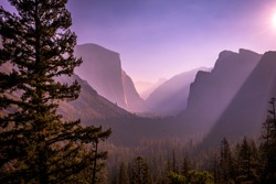 Yosemite valley, Yosemite national park, California, usa
