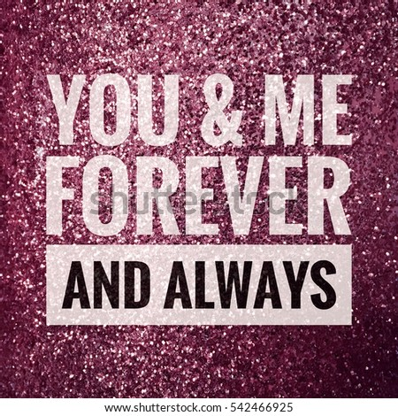 You And Me Forever Images And Stock Photos Avopixcom