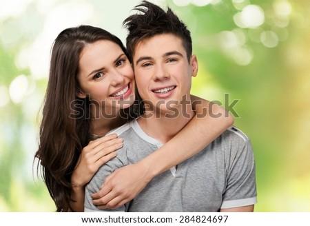Young Adult, Young Couple, Heterosexual Couple.