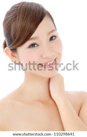 young asian beautiful woman