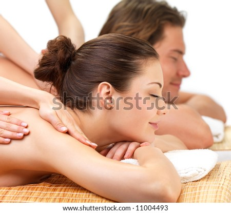 Lifestyle - Pagina 6 Stock-photo-young-beautiful-happy-woman-getting-a-massage-at-the-spa-with-her-boyfriend-11004493
