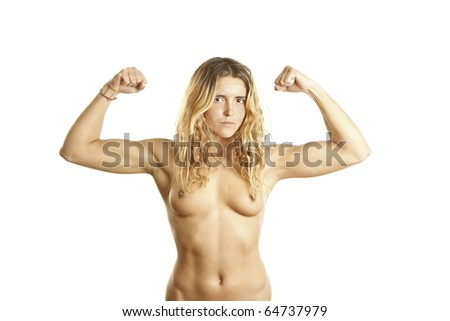 With Young girls showing muscles all became