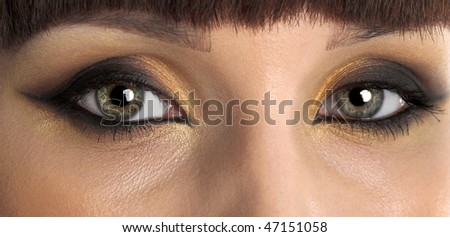 young beauty girl close up photo - Shutterstock ID 47151058