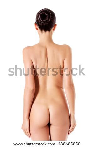 Porno-Bilder Sexy nackte weibliche Rückenposen