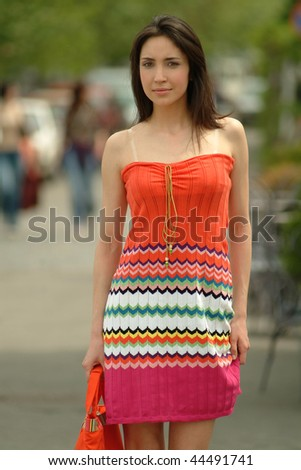 Young  beauty woman