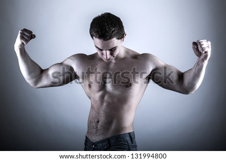 Young Bodybuilder Man