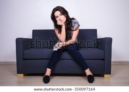 Bored Businessman Sitting On The Office Chair Stock Photos - Image ...