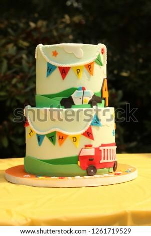 Young Boys Birthday Cake 1261719529