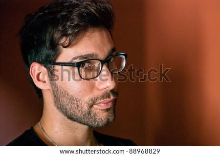 Young brazilian male model