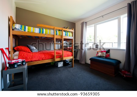 Young child's bedroom