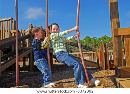 Young Children at the Park